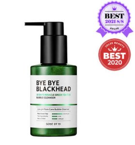 SOME BY MI - Bye Bye Blackhead - 30 Days Miracle - Green Tea - Tox Bubble Cleanser (120g)