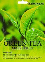 BARONESS - Máscara Facial  - Green Tea (21g)
