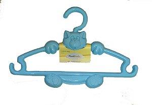 Kit c/ 3 Cabides Gatinho - Azul