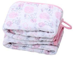 Paninho de Boca Soft Ursinha Rosa- 2 unidades