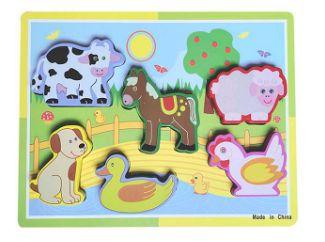 DUPLICADO - Brinquedo Educativo Didático Encaixe Madeira Números - DM Toys