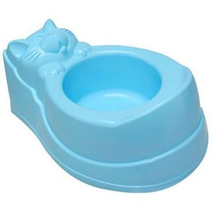 Troninho Penico Infantil Gatinho Azul - Plastibaby