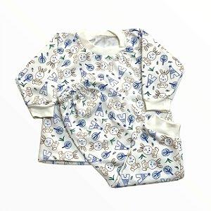 Pijama Infantil Moletinho Flanelado Coelhinho
