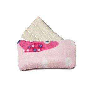 Bolsa Térmica com Sementes Rosa Corujas