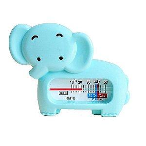 Termômetro Para Banho Elefante Azul