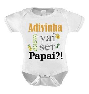 Body ou Camiseta Divertido - Adivinha quem vai ser Papai?