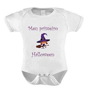 Body Meu Primeiro Halloween - Bruxinha