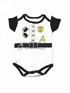BODY DIVERTIDO POLICIA BABY