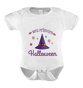 Body Meu Primeiro Halloween - Chapéu