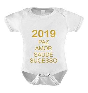 Body ou Camiseta Divertido - Feliz 2019