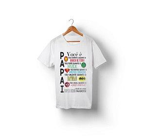 Camiseta personalizada papai - Herois