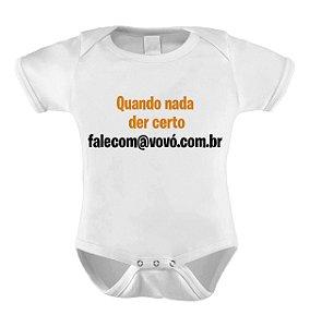 Body ou Camisetinha - @ fale com a vovo
