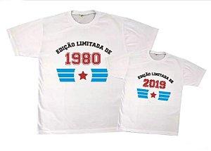 Kit camiseta e Body - Tal Pai tal filho - Edição limitada