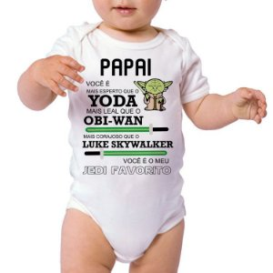 Body ou Camisetinha - Papai Yoda