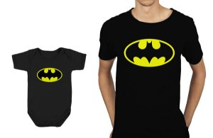 Camiseta e Body Tal Pai e Tal Filho - Batman II