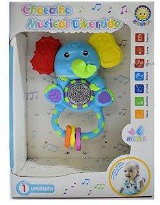 Chocalho Musical Divertido Elefantinho