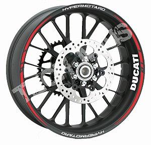 Fita de Roda Kit friso personalizado Ducati Hypermotard