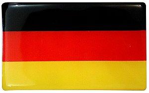 Bandeira Resinada de paises Alemanha, Brasil, Itália, Grâ Bretanha, França, Argentina, japão, EUA