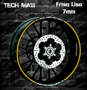 Friso Refletivo 7mm com logos Honda CB300R