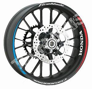 Fita de Roda Friso de Roda Refletivo Honda CBR1000RR Fireblade