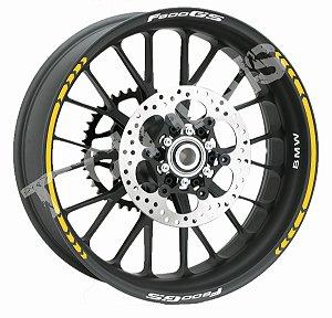 Fita de Roda Friso de Roda Refletivo BMW F800GS Direcional