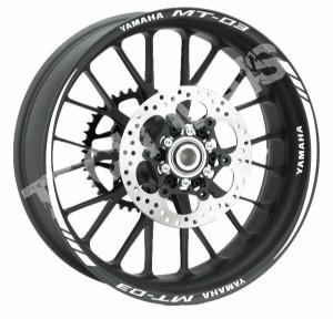 Fita de Roda Friso de Roda Refletivo Yamaha MT-03 Orbital
