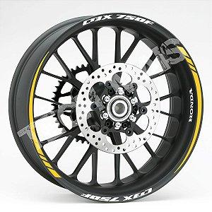 Fita de Roda Friso de Roda Refletivo Honda CBX 750 F Orbital