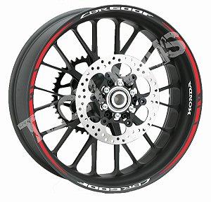 Fita de Roda Friso de Roda Refletivo Honda CBR600F Orbital Duplo