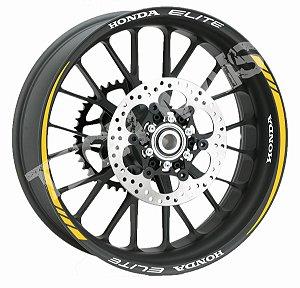 Fita de Roda Friso de Roda Refletivo Honda Elite Orbital
