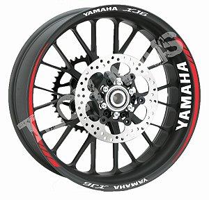 Fita de Roda Friso de Roda Refletivo Yamaha XJ6 Orbital Borda