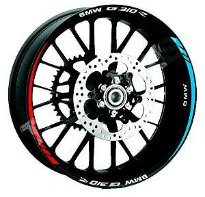 Friso de Roda Refletivo BMW G310R Frete Grátis