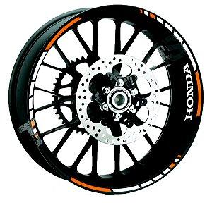 Fita de Roda Friso de Roda refletivos fita adesivo roda linha HONDA com loo de borda frete grátis todo o Brasil