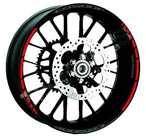 Fita de Roda Friso de Roda Refletivo Honda CB500F Abstrato