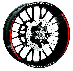 Friso Refletivo de roda Personalizado KASINSKI GT 250 R