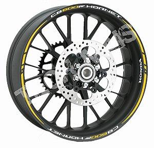 Fita adesivo de Roda Friso de Roda Refletivo Honda CB600F Hornet