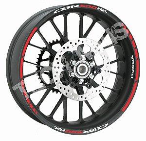 Fita de Roda Friso de Roda Refletivo Honda CBR600RR
