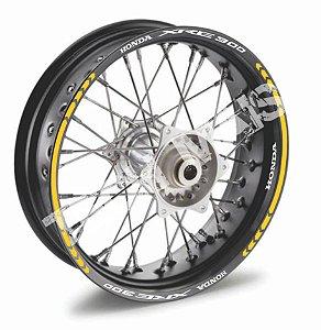 Fita de Roda Friso de Roda Refletivo Honda XRE 300 2 cores Frete Grátis