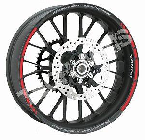 Fita de Roda Friso de Roda Refletivo Honda Twister CBX 250