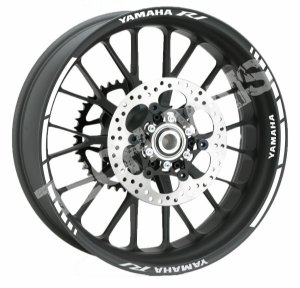 Fita de Roda Friso de Roda Refletivo Yamaha R1