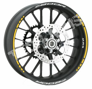 Fita de Roda Refletiva Friso de Roda Refletivo BMW F800R
