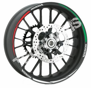 Fita de Roda Friso de Roda Refletivo Honda Universal