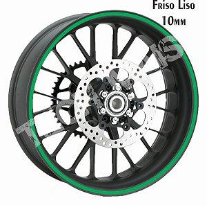 Fita de Roda Adesivo de roda Friso de Roda Refletivo Liso 10mm