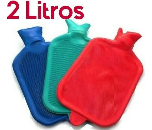 Bolsa Térmica Para Compressa de Borracha Água Quente e Fria – 2 Litros