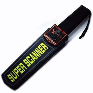 Detector De Metal Profissional Super Scanner- Pronta Entrega