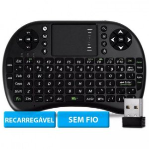 Mini Teclado Sem Fio Wireless TouchPad Universal Console PC
