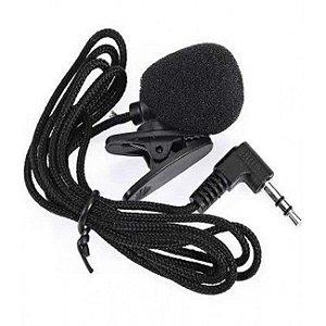 Microfone de Lapela para Celular - P2 3.5mm