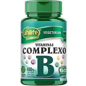 Vitaminas Complexo B Unilife - 60 Comprimidos 500mg