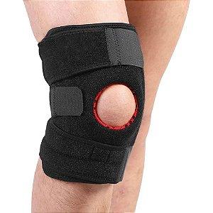 Joelheira Articulada Velcro Neoprene Ajustável Flexível