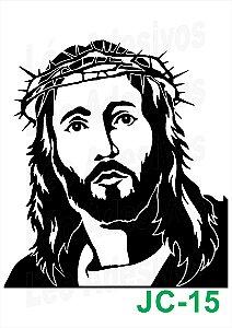 Adesivo de Jesus Cristo para Caminhão e Carros