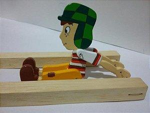 Brinquedo de Madeira Trapezista Mané Gostoso do Chaves